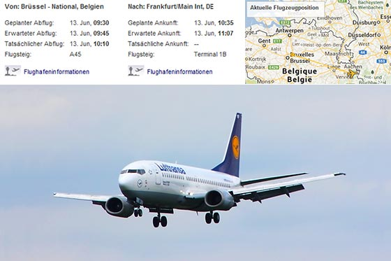 aircraft, flight schedule, map