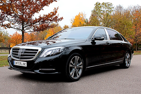 limousine – maybach mercedes s 500 - ® interline limousine network